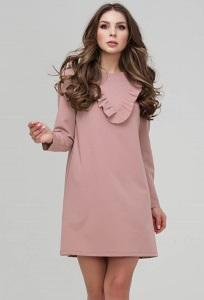 Полуприлегающее мини-платье Donna Saggia DSP-306-82
