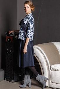 Тёмно-синяя юбка Flaibach 096W7