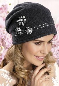 Женская шапка-бандана с камнями Swarovski Willi Dara