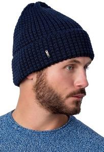 Мужская шапка из полушерстяной пряжи Landre Кристиано