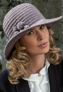 Женская широкополая шляпа из шерсти Willi Melich