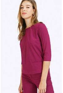 Блузка ярко-фиалкового цвета Emka B2253/fresca