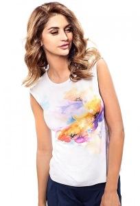 Летняя блузка без рукавов Enny 190090