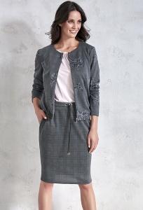 Женская трикотажная юбка Sunwear VC404-3-78