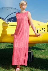 Летнее платье без рукавов Flaibach 066S8