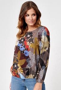 Цветастая блузка Sunwear C13-5-15