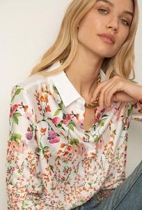 Рубашка с цветочным принтом Emka B2412/copens