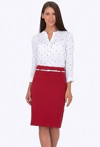Красная юбка Emka Fashion 202-60/festina