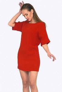 Короткое нарядное платье прямого кроя Emka PL733/melisandra