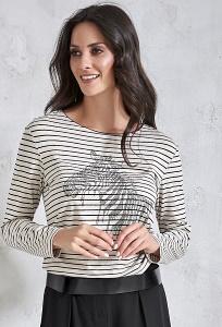 Женская блузка с рисунком Зебра Sunwear V42-5-23
