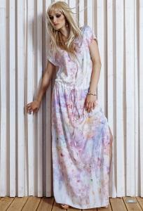 Длинное летнее платье Flaibach 056S5