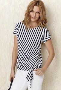 Блузка в диагональную полоску Sunwear Y13-2-30
