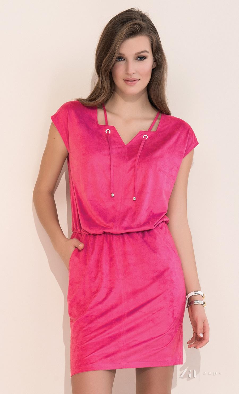38999d04421 Купить летнее молодёжное платье розового цвета Zaps Ami в интернет ...