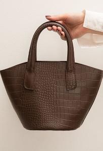 Сумка-торба из  экокожи + косметичка Emka C033/matila