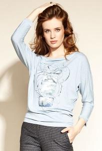 Голубая блузка Zaps Tresa