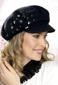 Женская кепка с металлическим украшением Willi Andi