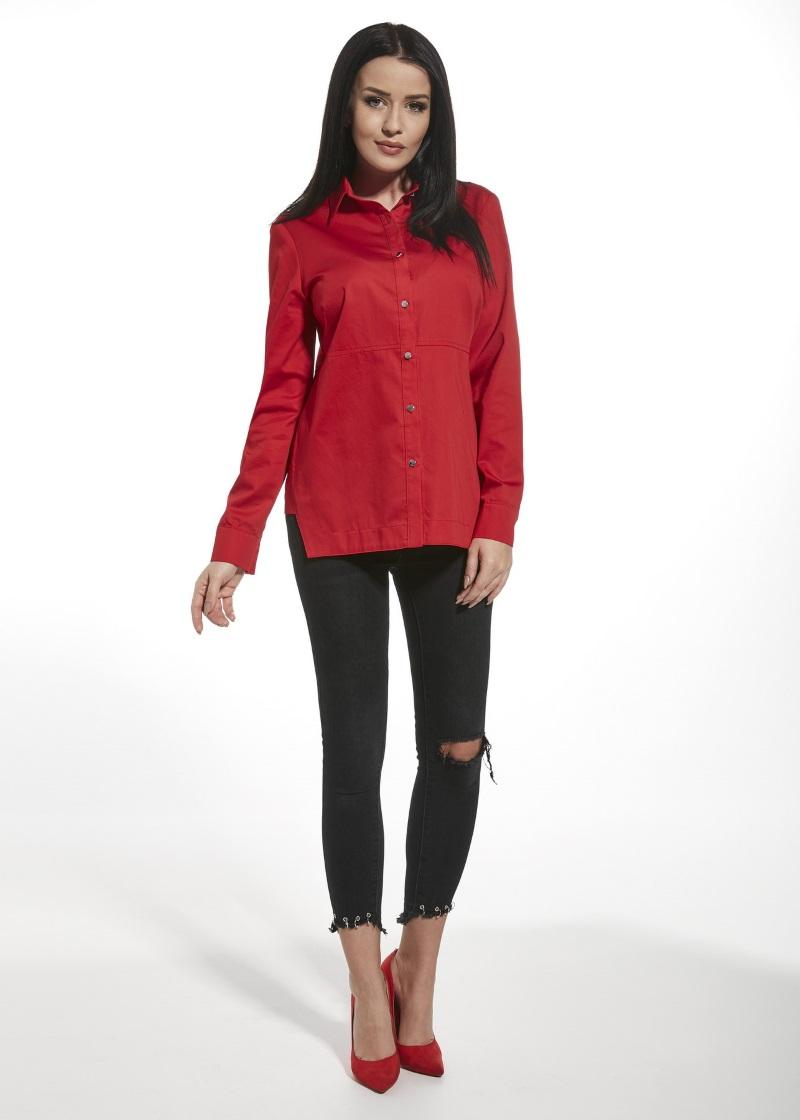 501092fcaab Женская красная рубашка Ennywear 250190 купить в интернет-магазине