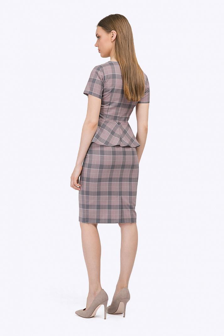 3485cb0c9ac7 Классическая юбка-карандаш в клетку Emka S663/muffin купить в ...