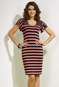 Летнее платье из крапивы TopDesign) A4 005