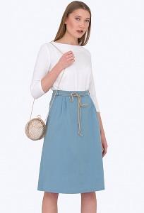 Юбка из хлопка Emka Fashion 694-65/cosmopolitan