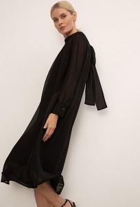 Летящее шифоновое платье А-силуэта Emka PL1130/glamur