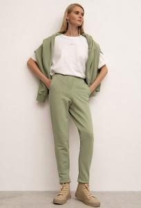 Зауженные брюки на резинке D200/lindsay