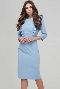 21d829ace42 Платье-футляр голубого цвета Donna Saggia DSP-295-4 купить в ...