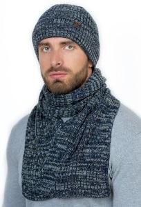 Комплект для мужчин шапка и шарф Landre Давид