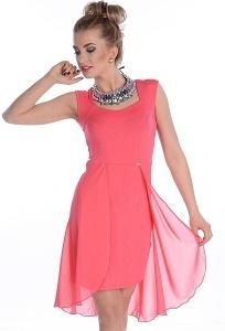 Малиновое платье Enny (весна-лето 2014) 17008