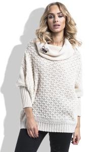 Теплый свитер с широким воротником Fimfi I227