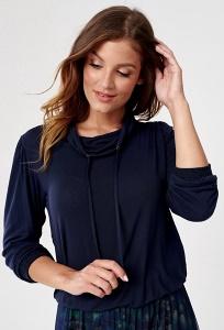 Тёмно-синяя блузка Sunwear C12-5-30