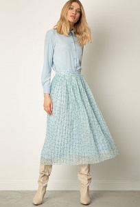 Плиссированная юбка А-силуэта Emka S777/almeriya