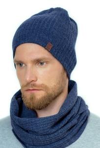 Удлиненная тонкая двойная шапка Landre Винсент