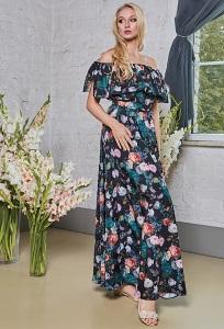 Длинное летнее платье TopDesign PA8 36