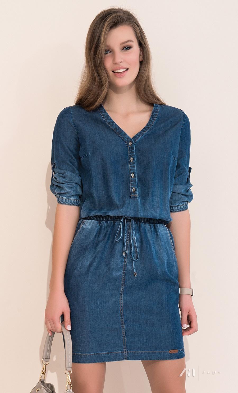 409439bf4b9 Купить летнее джинсовое платье 2017 Zaps Bea в интернет-магазине ...