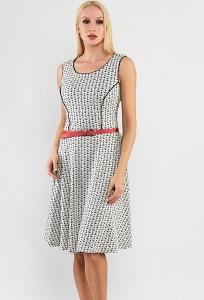 Летнее платье без рукавов TopDesign A9 080