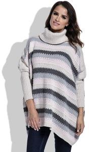 Женский свитер oversize универсального размера Fimfi I211