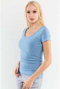 Простая летняя блузка TopDesign A9 140
