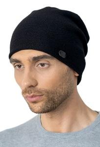 Удлиненная тонкая двойная шапка-колпак Landre Валентино