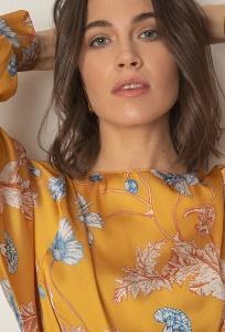 Блуза уникального авторского кроя Emka B2547/malcolm