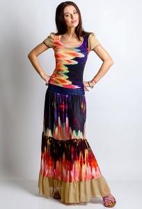Комплект юбка и блузка TopDesign Premium PA4 35