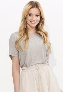 Блузка с декоративной сборкой сзади Zaps Mila