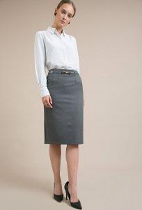 Классическая юбка-карандаш Emka S776/melbourne