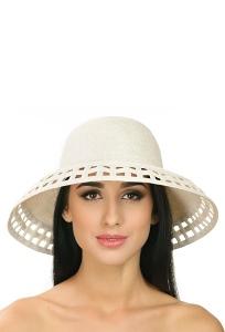 Шляпа бежевого цвета Del Mare 005-09