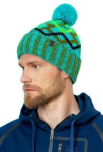 Теплая мужская шапка с отворотом Landre Ромео