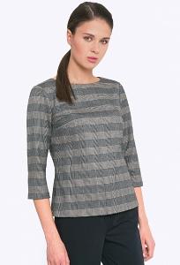 2fe4dcc15f0 Купить блузку женскую с воротником хомут Emka B2268 mario в интернет ...