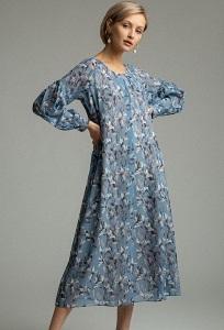 Макси-платье А-силуэта Emka PL1075/veber