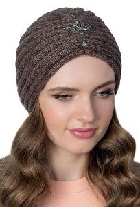 Женская шапка-чалма из мохера Landre Самуэлла
