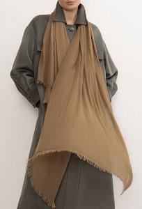 Палантин коричневого цвета Emka A014/kylie