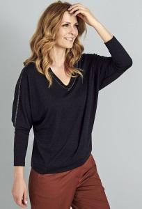Блузка с V-вырезом Sunwear A44-5-30